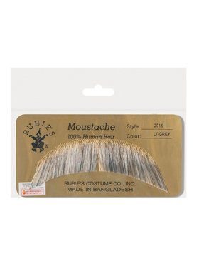 Basic Character Moustache - Light Grey