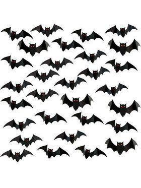 Bat 3-D Wing Printed Cut Out Decorations