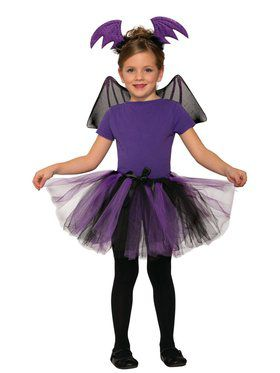 Bat Girl Tutu Dress Up Kit