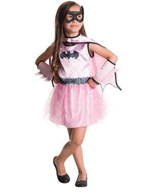 Child Batgirl Dress and Cape Set