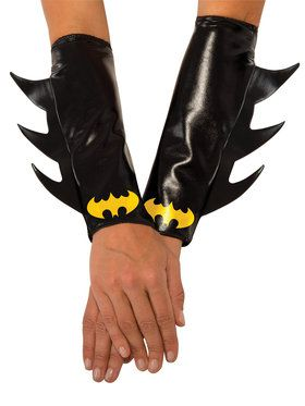 Batgirl Costume Gauntlets 2018 Halloween Costume Accessories