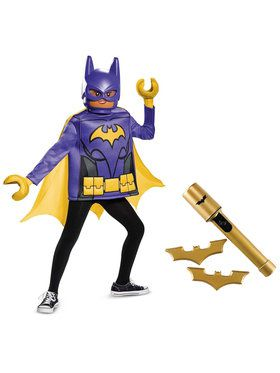 Child Classic Lego Movie Batgirl Costume Kit