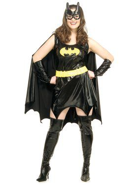 Adult Batgirl Plus Costume