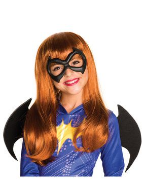 Batgirl Wig Costume Accessory