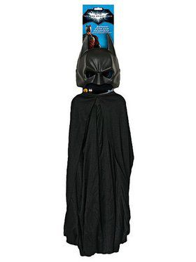 Batman Cape and 2018 Halloween Masks Costume Set