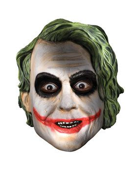 Batman Dark Knight Child Joker Full Mask