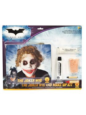 Batman Dark Knight - Adult Deluxe Joker Wig