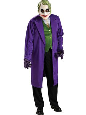 Batman Dark Knight Adult The Joker Costume