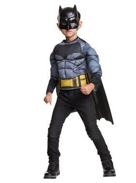Batman Deluxe Child Muscle Chest Shirt Set