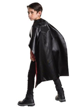Batman Superman 2-1 Child Reversible Cape