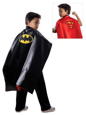 Reversible Batman/Superman Cape