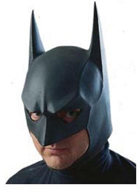 Batman The Dark Knight Rises 3/4 Vinyl Adult Mask