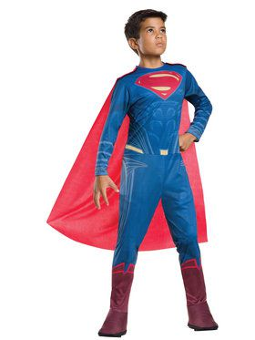 Dawn Of Justice Superman Boys Costume