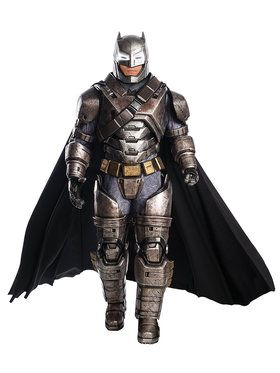 Batman v Superman Dawn of Justice Supreme Armored Batman Costume for Adults