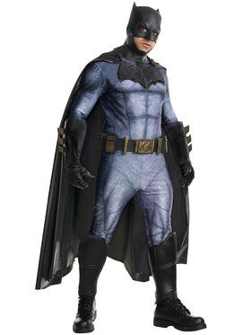 Batman v Superman Dawn of Justice Grand Heritage Batman Costume for Adults