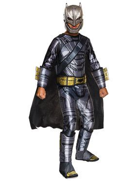 Boy's Batman V Superman Batman Costume