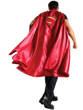 Batman V Superman Dawn of Justice Deluxe Adult Superman Cape