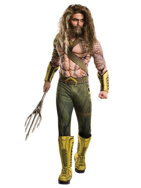 Men's Deluxe Aquaman Costume