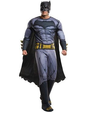 Batman v Superman Dawn of Justice Batman Deluxe Costume for Adults