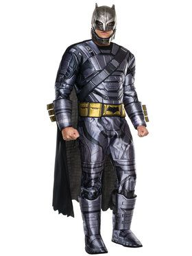 Batman v Superman Dawn of Justice Armored Batman Deluxe Costume for Adults