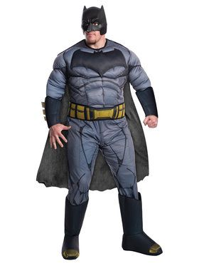 Deluxe Batman vs. Superman Dawn of Justice Deluxe Batman Costume with 3D Gauntlets