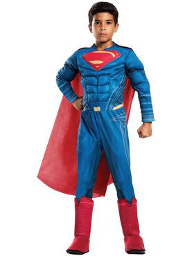 Boy's Dawn of Justice Deluxe Superman Costume