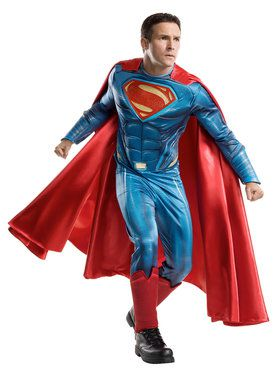 Batman v Superman Dawn of Justice Grand Heritage Superman Costume for Adults