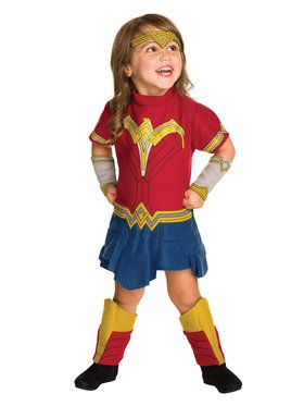 Batman V Superman: Dawn of Justice Toddler Wonder Woman EZ-On Romper Costume