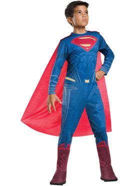 Tween Superman Costume