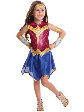 Wonder Woman Dawn of Justice Tween Costume