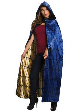 Batman v Superman: Dawn of Justice Deluxe Wonder Woman Cape Accessory for Adults