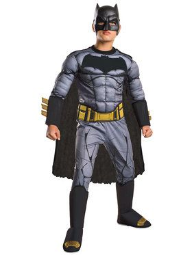 Boy's Dawn of Justice Deluxe Batman Costume