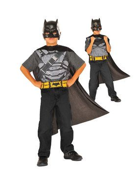 Child's Batman v Superman Reversible Costume