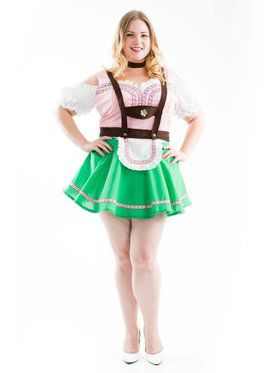 Bavarian Beer Garden Girl Adult Costume
