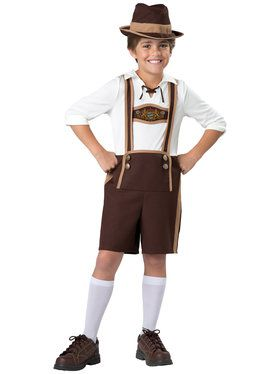Bavarian Boy Child Costume Small (6)