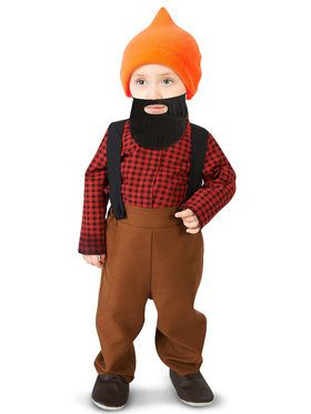 Bearded Baby Lumberjack Infant Costume