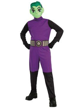 Beast Boy Child Costume
