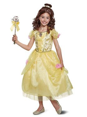 Beauty & the Beast Belle Deluxe Toddler Costume