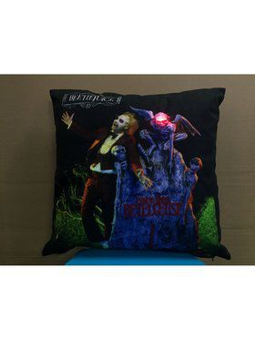 Beetlejuice Pillow