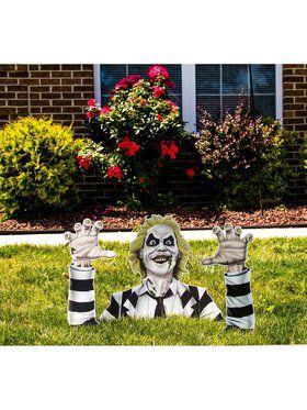 Beetlejuice Printed Corrugated Ground Breaker
