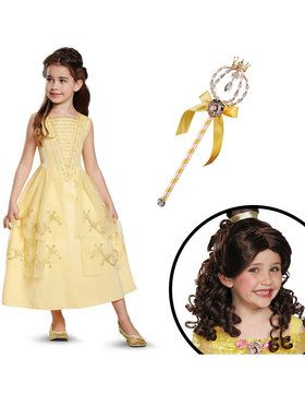 Belle Ball Gown Children's Classic Costume Kit