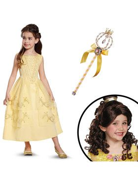 Belle Ball Gown Toddler Classic Costume Kit