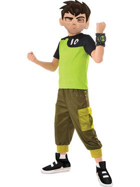 Boys Ben Tennyson Ben 10 Costume