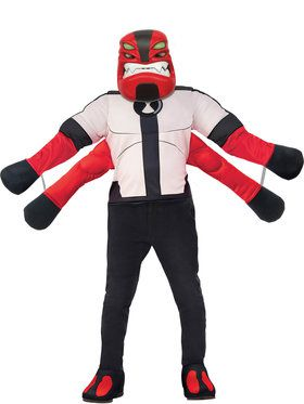 Deluxe Boys Four Arms Ben 10 Costume