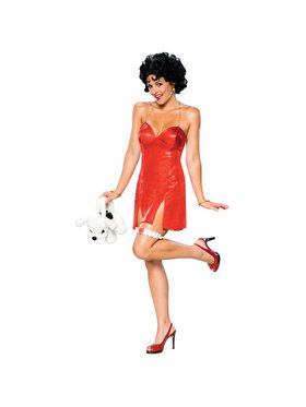 Betty Boop Deluxe Short Dress Adult Costume