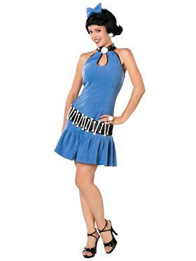 Betty Rubble Tm Adult