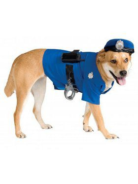 'Big Dogs' Police Dog Pet Costume