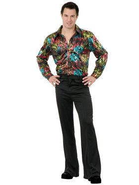 Black Disco Pants Adult