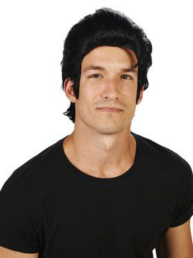 Black Elvis Adult Wig