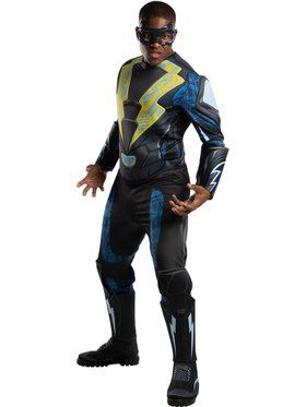 Black Lightning Adult Deluxe Adult Costume